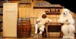 Hernán Gené :: Actor :: Trabajos :: Cartel Los cazadores de thé