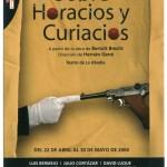 Hernán Gené :: Director :: Trabajos :: Sobre Horacios y Curiácios :: Cartel