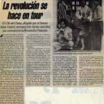 Hernán Gené :: Actor :: Trabajos :: 1789 Tour :: Prensa
